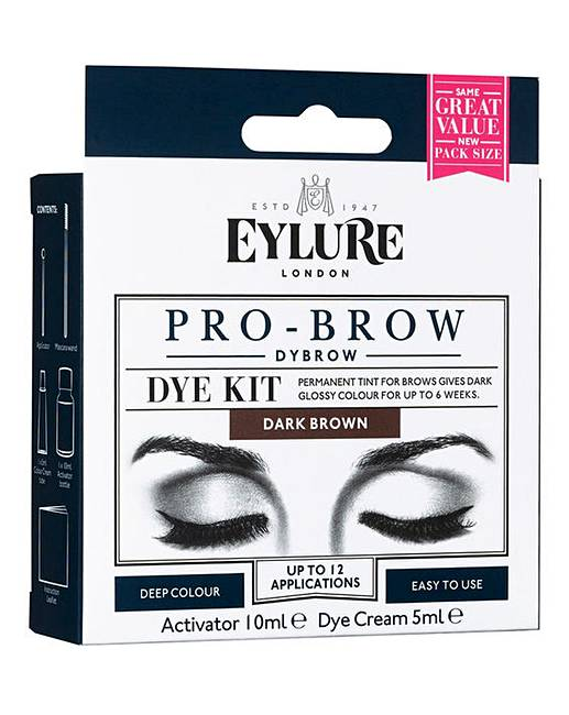 Eylure Dybrow Eye Brow Dye Kit Brown J D Williams