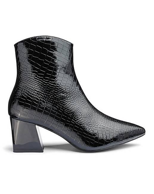 2b43a2f1436 Raid Amisha Ankle Boots Wide Fit