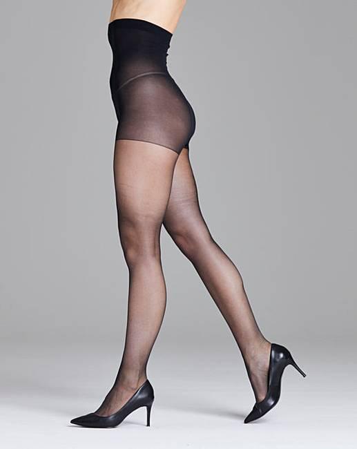 419214ad8 Pretty Polly Curves 2Pk Gloss Tights