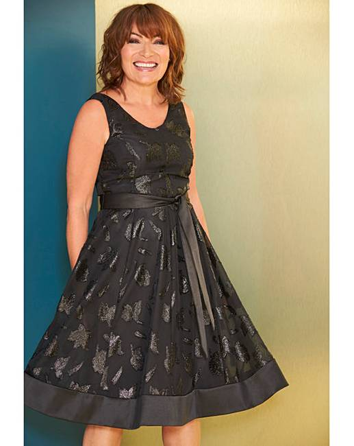 a7ec84b04e7bb Lorraine Kelly Fit & Flare Dress | Simply Be