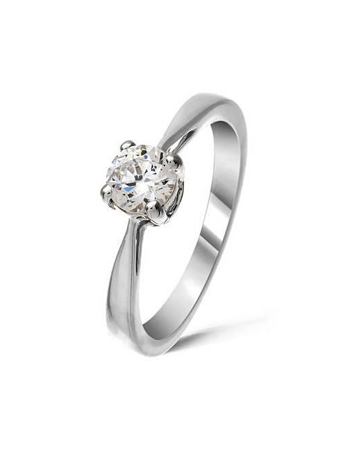 9ct White Gold 0.5Ct Diamond Ring  ad0364ed0