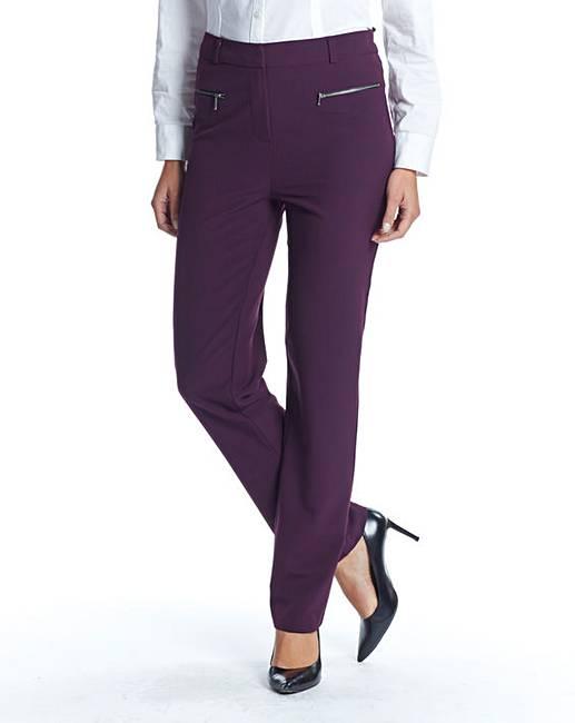 956f5515ab9 Petite Slim Leg Trouser Length 25in