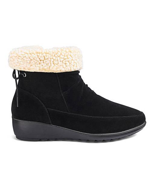 d4ea5199f1f Cushion Walk Ankle Boots E Fit