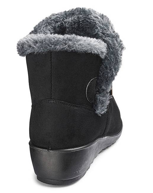 765efeac496 ... Lined Ankle Boots Wide E Fit. Click to view  Cushion Walk  products.  Rollover image to magnify