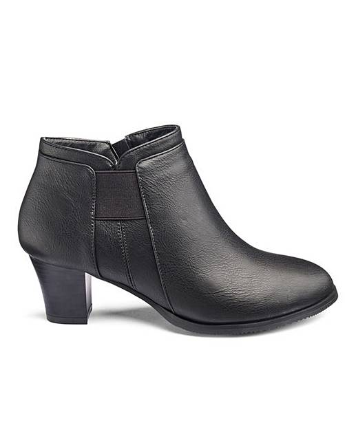 c099ca54b0d2 Cushion Walk Ankle Boots E Fit