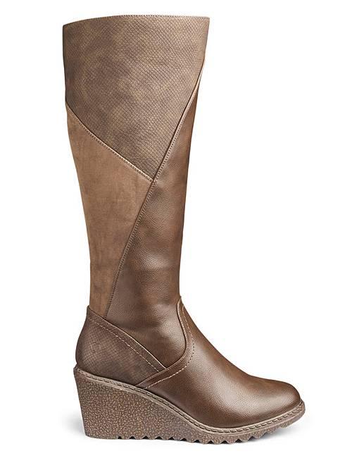 42995aa9a4c Heavenly Soles Boots E Fit Super Curvy