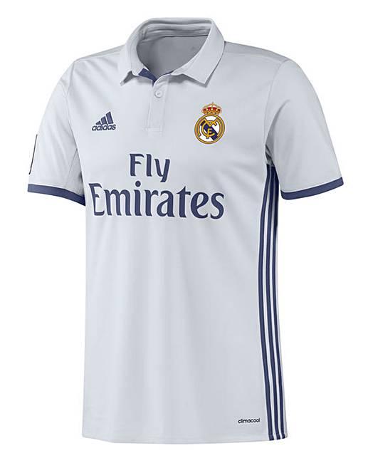 adidas Real Madrid Home Replica Shirt  c5d840f9d