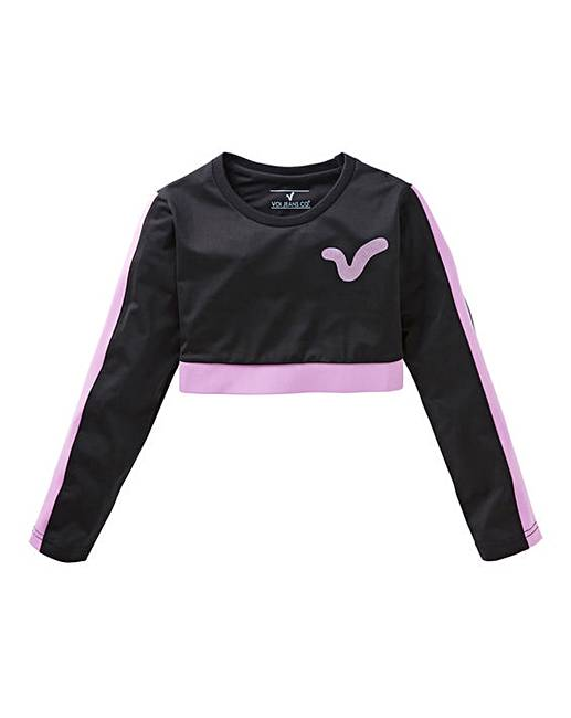 Fashion world long sleeve tops