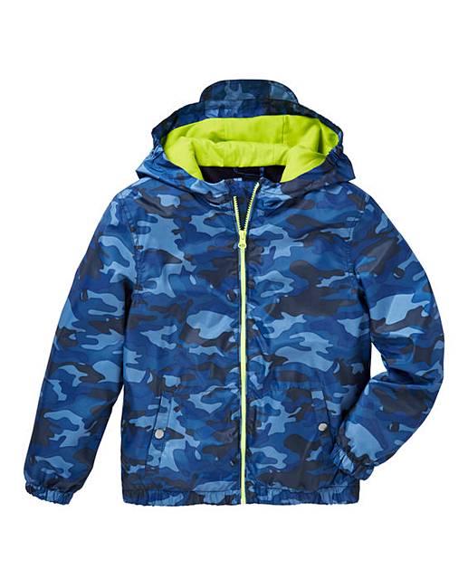 61ff9d2556c87 KD Boys Camo Print Coat | Simply Be