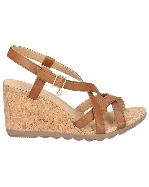 8f319a58f13d4 Hush Puppies Pekingese Strappy Sandal | Simply Be