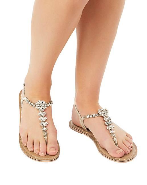 0c3238899d54 Accessorize Rio Embellished Sandal