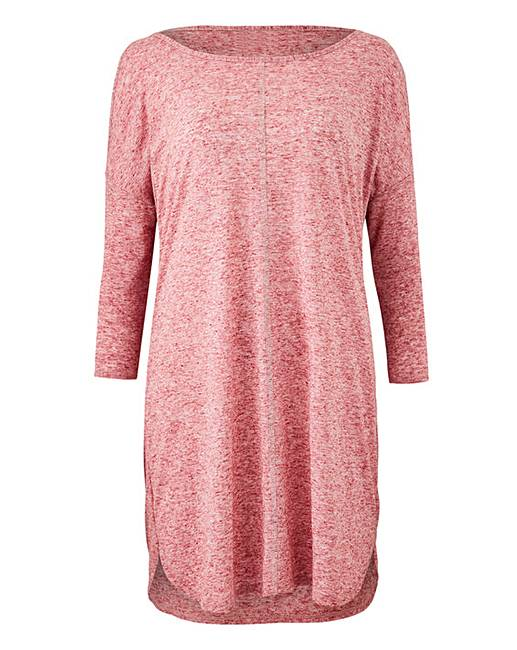 7800ebcb Petite Linen Cold Sh Tunic | J D Williams