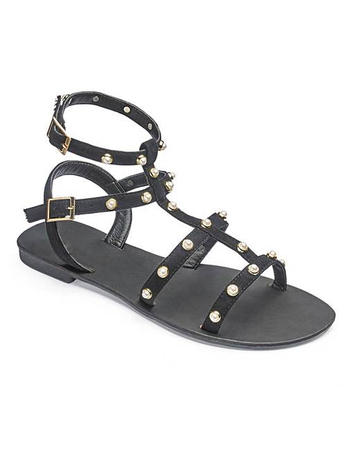 a602bd12f75 Haley Gladiator Sandals Extra Wide EEE Fit