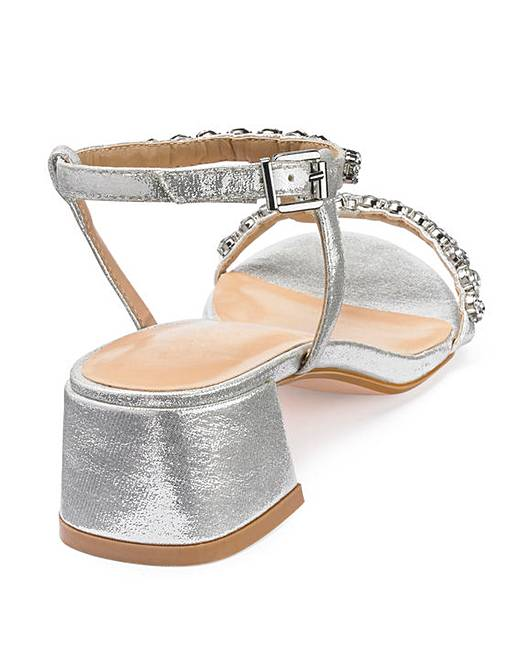 f1fea00eb9c Jenny Block Heel Sandal Wide E Fit