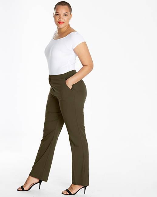 ser Pantalón para recta pierna de medida a mujer simplemente xqOCR8wFx