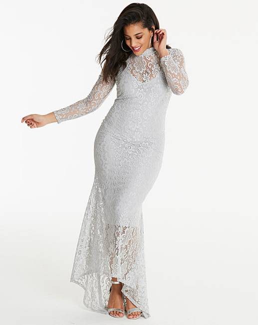 4c502e303f9 Simply Be By Night Lace Maxi Dress