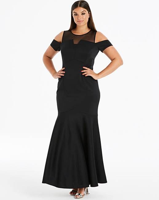 3cfe8659dd68 Coast Lorna Scuba Maxi Dress | J D Williams
