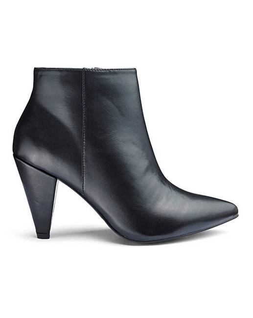 b3abfae5e79 Lillibet Cone Heel Boots Wide Fit