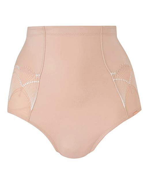 6fc432833a39 Figleaves Curve Art Deco Firm Control Blush Waist Nipper. Click to view 'Figleaves  Curve' products. Rollover image to magnify