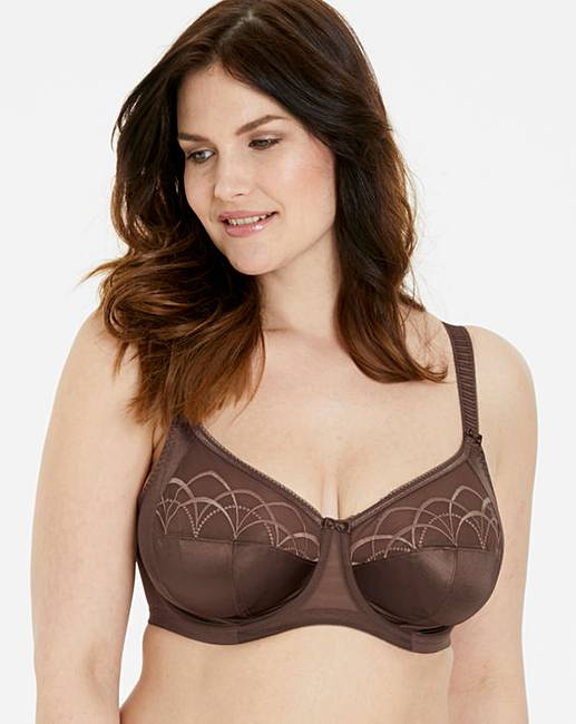 beb93732d Elomi Cate Full Cup Wired Pecan Bra