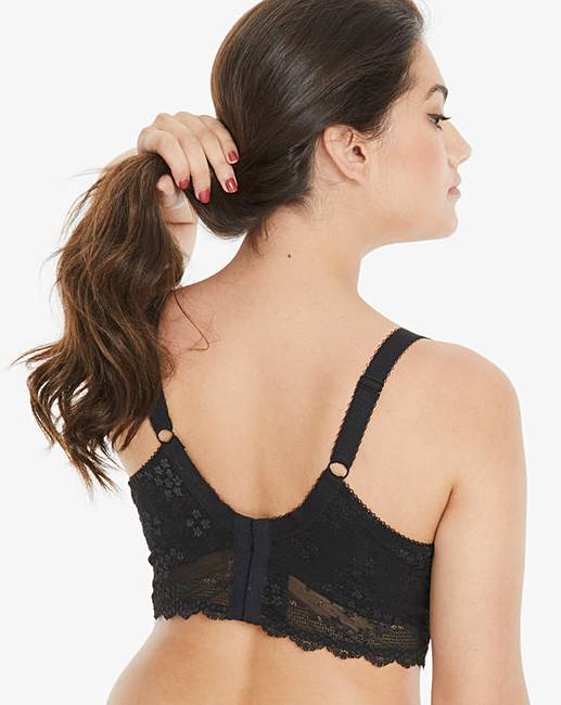 7062b072b1964 Elomi Charley Black Wired Bralette. Click to view  Elomi  products.  Rollover image to magnify