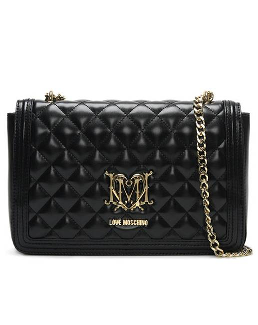 Love Moschino Quilted Shoulder Bag  bd9cdfe2adea