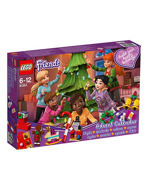 Lego Friends Christmas Sets.Lego Friends Advent Calendar