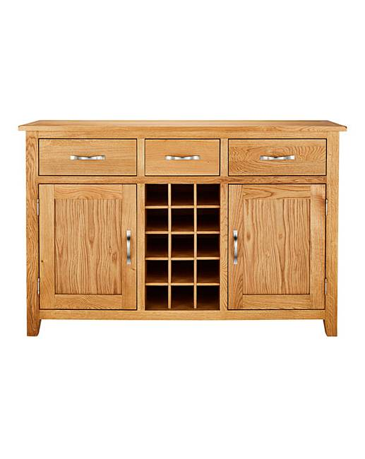 Harrogate Large Sideboard With Wine Rack