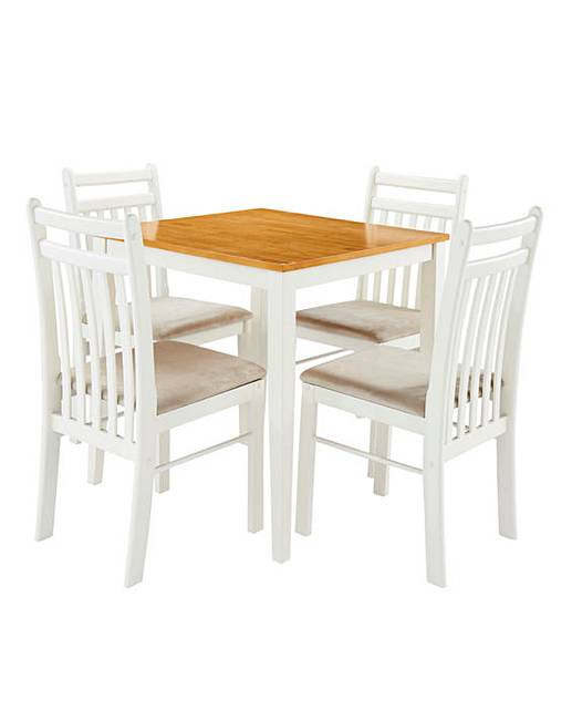 southwold compact dining table 4 chairs | j d williams Compact Dining Table