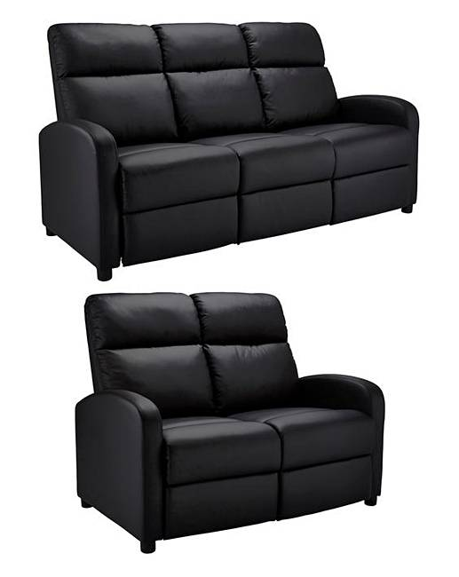 Hudson 3 plus 2 Seater Recliner Sofa