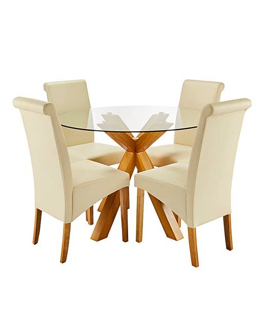 Albany Circular Table Siena Chairs House Of Bath - Circular dining table for 4