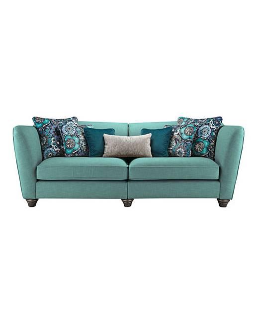 Delicieux Burlesque 4 Seater Sofa