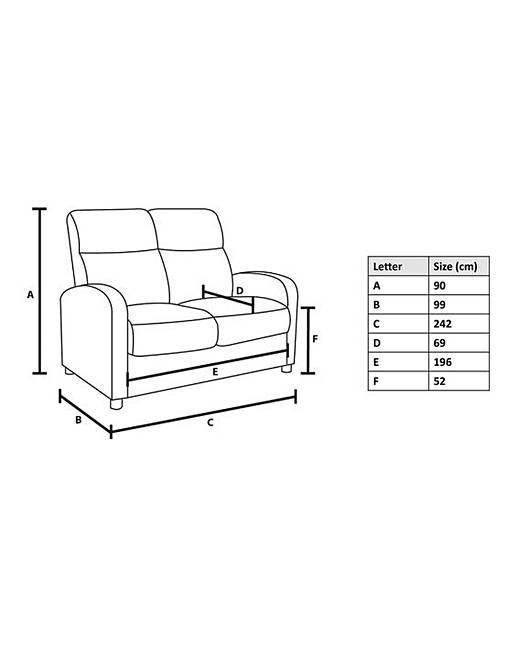 Burlesque 4 Seater Sofa. Rollover Image To Magnify