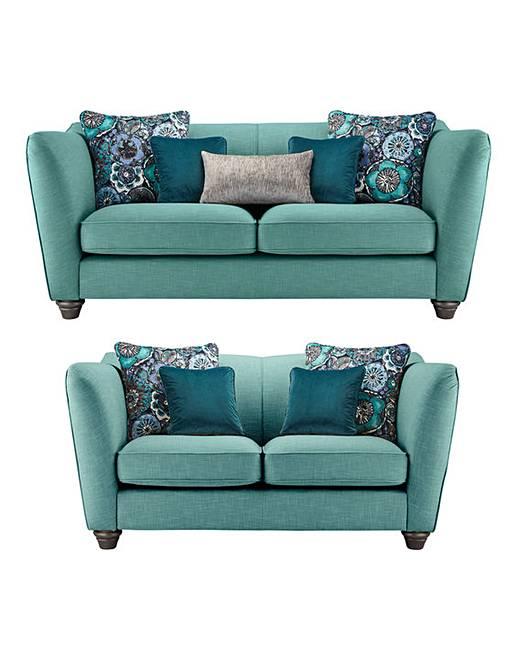 Incroyable Burlesque 3 Plus 2 Seater Sofa
