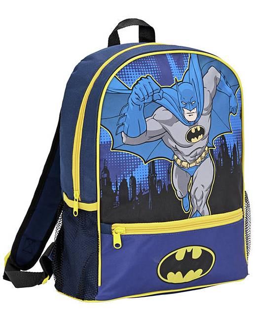 f98dc923592a Batman Backpack - Blue