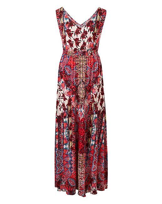 89b8947d90f Together Patch Print Maxi Dress