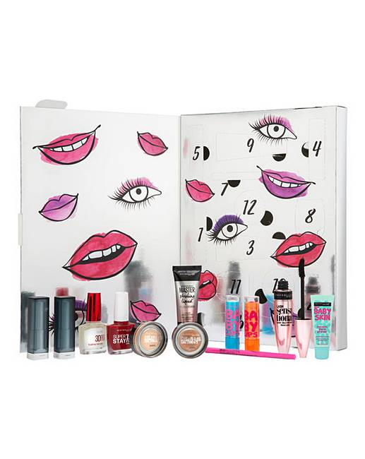 Maybelline Beauty Advent Calendar by Maybelline