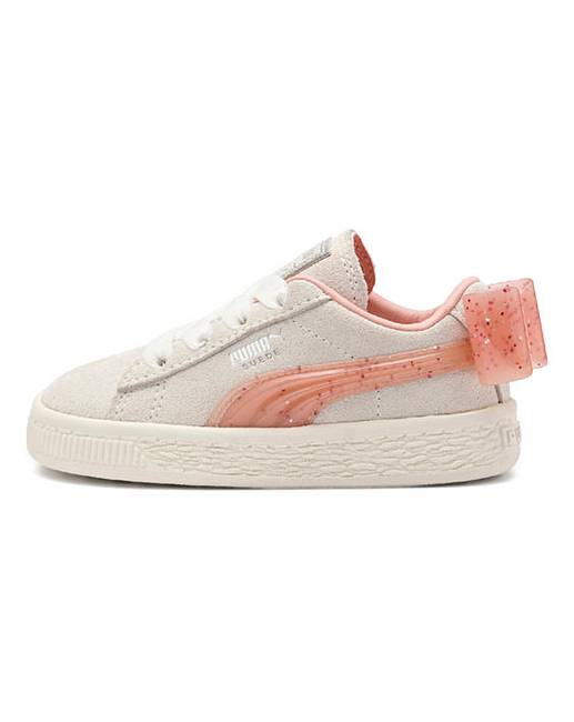 b6cc92bf331 Puma Suede Bow Jelly Trainers