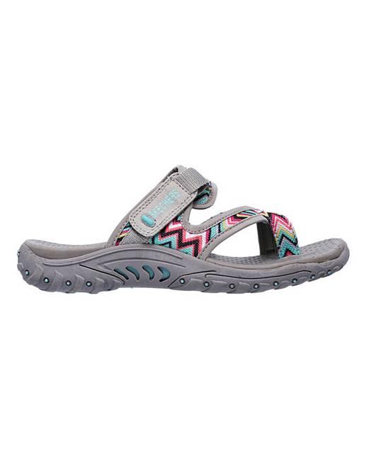 b2bbe04b254f Skechers Reggae Zig Swag Sandals