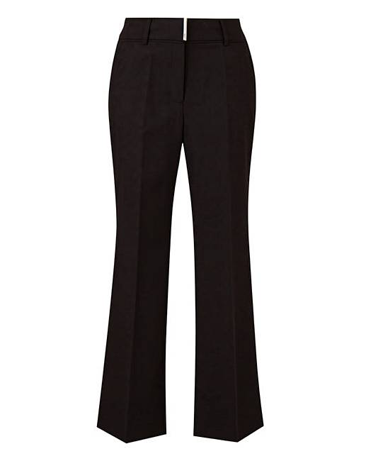 1a934c7bba982 Tailored Bootcut Trousers Petite | J D Williams