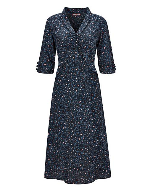 04e13404fd97 Joe Browns Animal Tea Dress | Simply Be