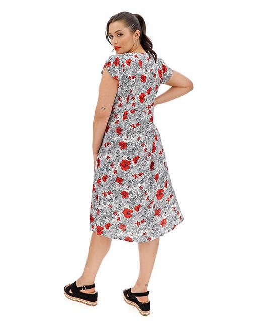 79ef3661d9367 Joe Browns Sizzling Summer Dress | Simply Be
