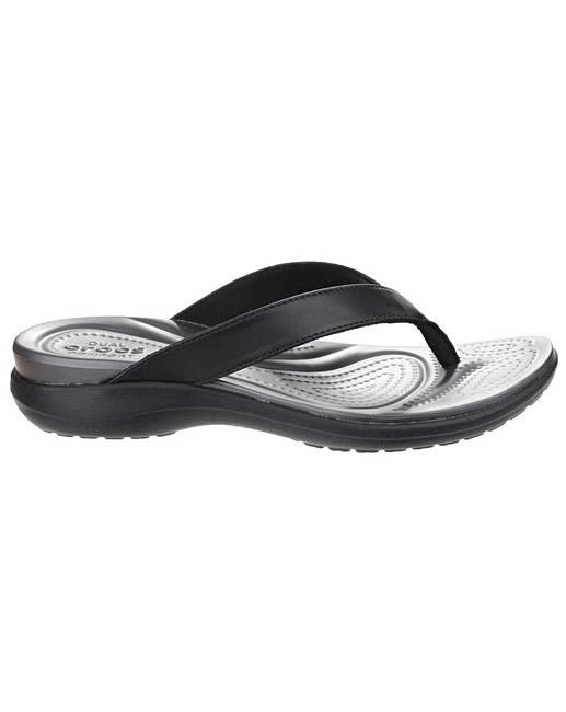 45c9f4e598c2 Crocs Capri V Flip flop