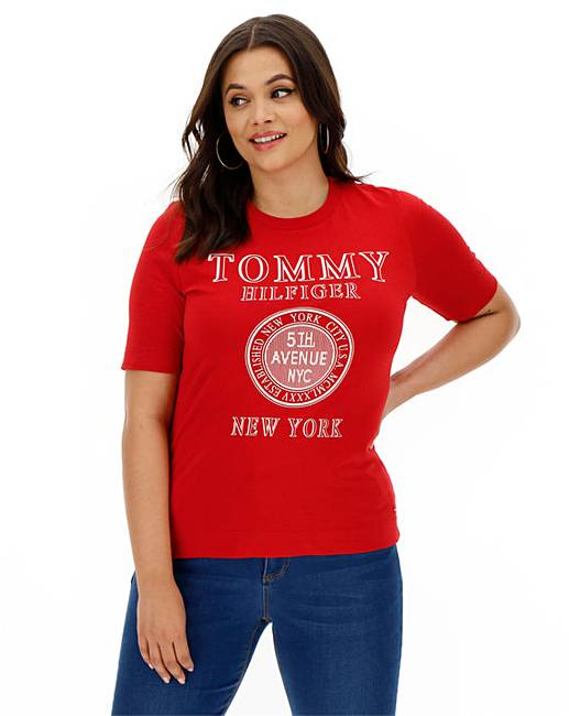 Tommy Hilfiger Darcy Tee by Simply Be