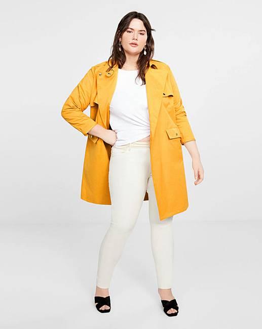 bf3b2733c234 Violeta by Mango Trench Coat