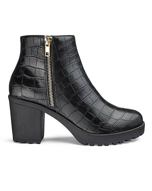 62be6c03c56 Kate Side Zip Boots Extra Wide Fit