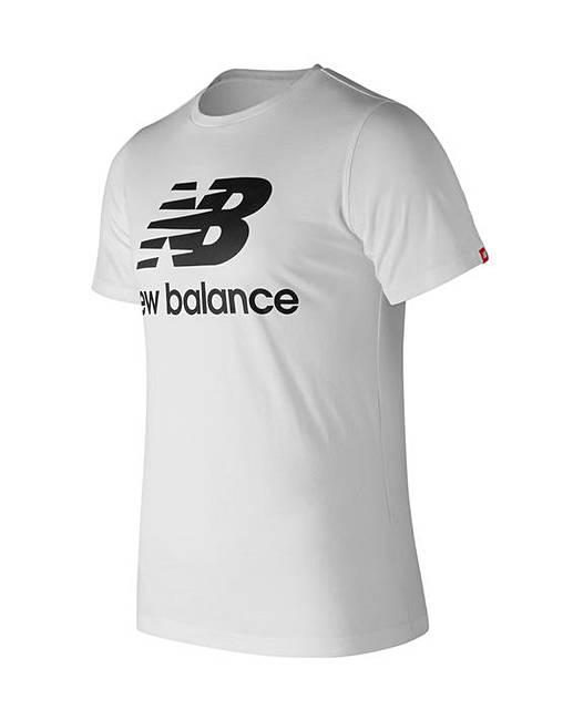 af572897a21dd New Balance Essentials Stacked Logo Tee | Premier Man