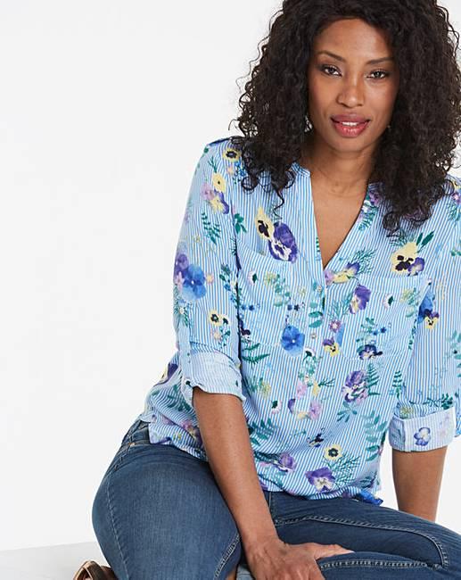 b54f628a475 Oasis Pressed Flower Shirt