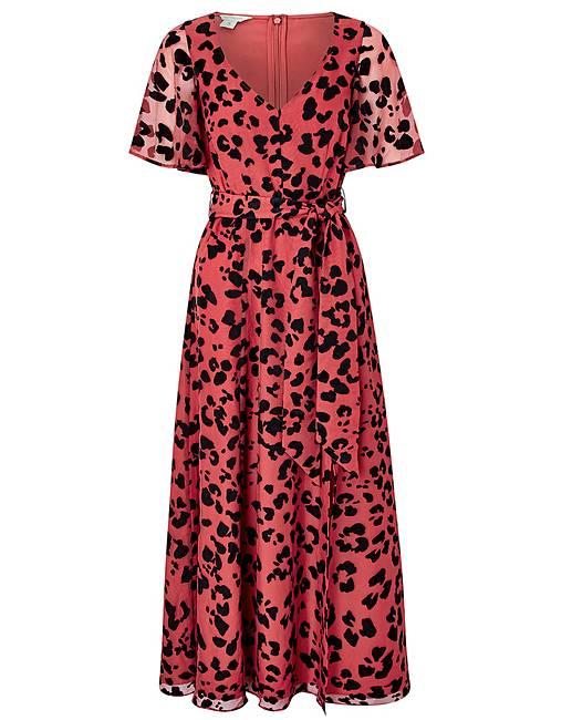 f9bb9c3ea Monsoon Annie Animal Burnout Maxi Dress | Simply Be
