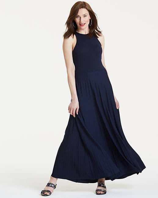 9ef67ca33cd8b Anna Field Pleated Jersey Maxi Dress | J D Williams